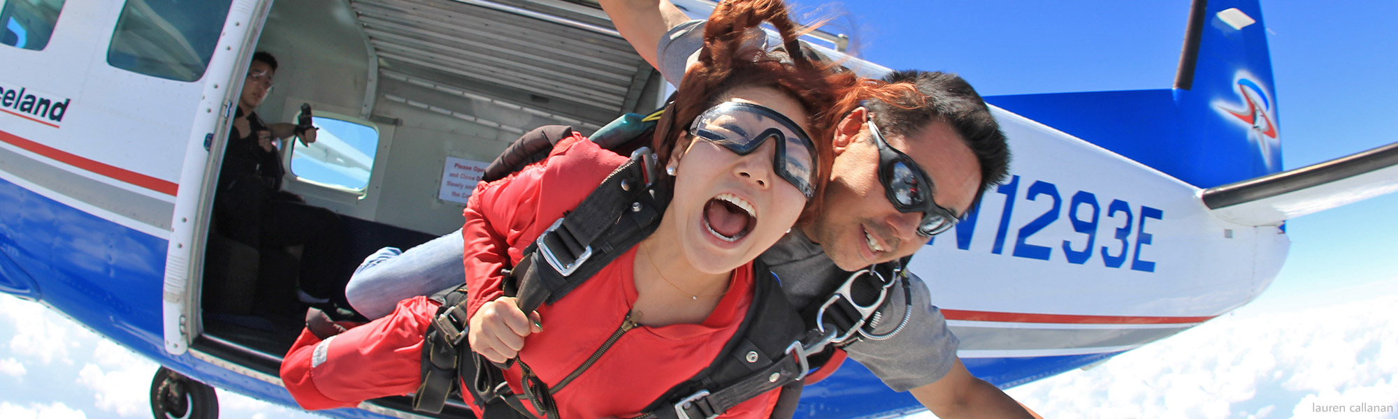 Your First Jump: Tandem Skydiving! - Skydive Spaceland San